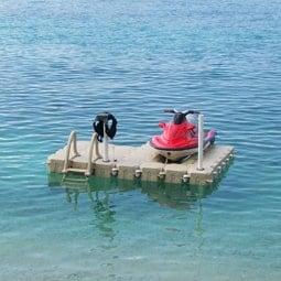 Floating Docks Modular Plastic Floating Dock Candock
