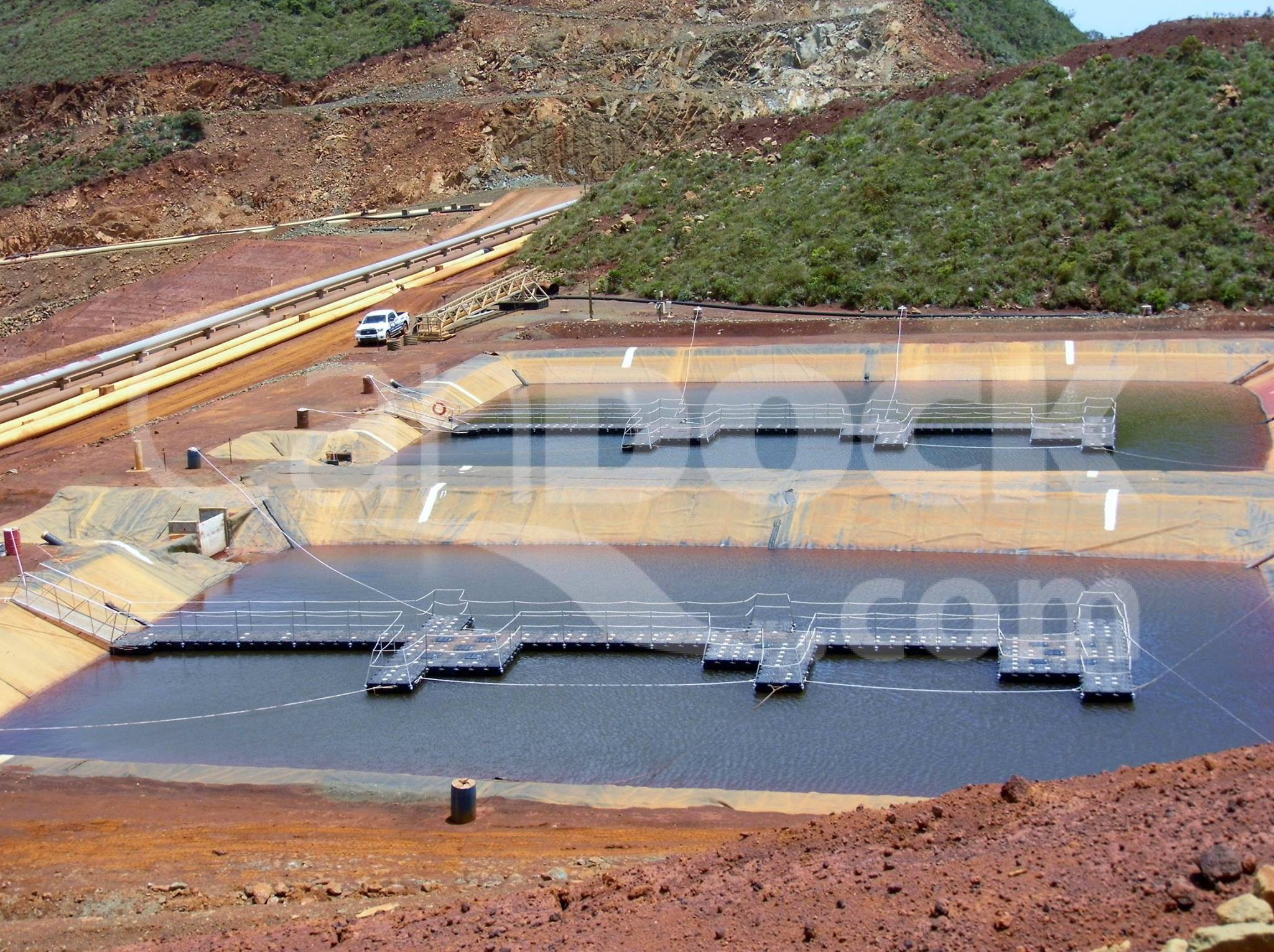 industrial floating walkway