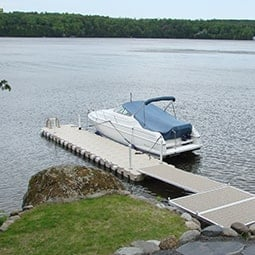 Floating docks - Modular Plastic Floating Dock | Candock