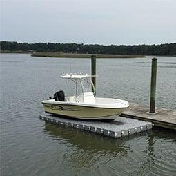 Floating docks - Modular Plastic Floating Dock | Candock